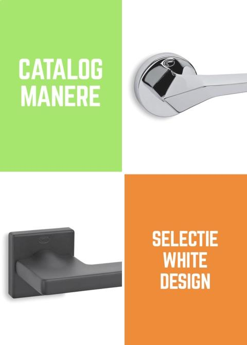 Catalog manere White Design